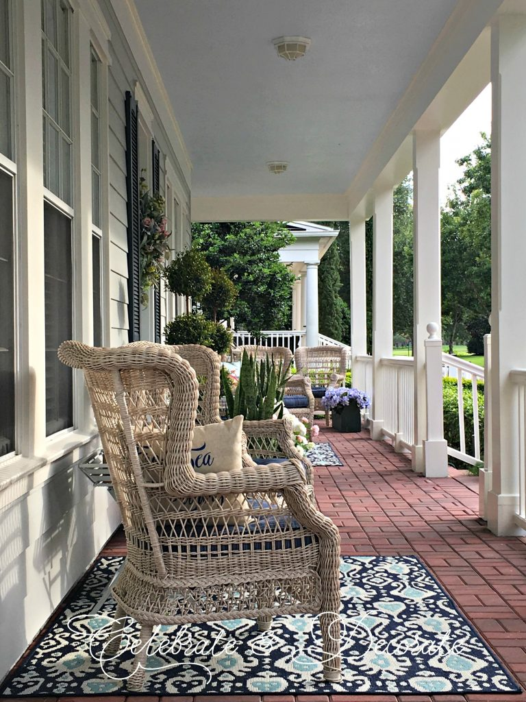 My southern porch
