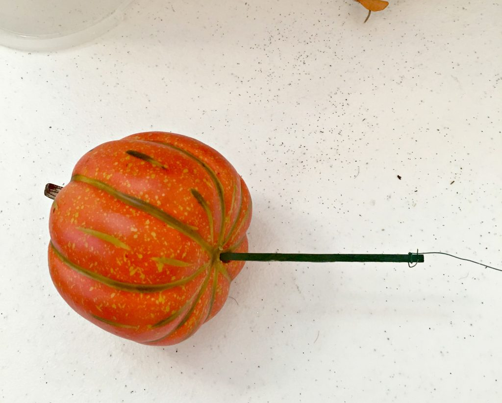How to add pumpkins and gourds to your fall swag