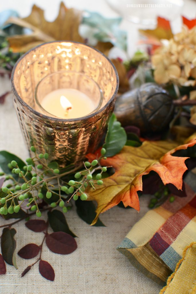 Stunning Tablescape for Fall