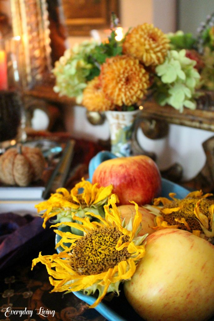 Add subtle hints of Autumn to your home.