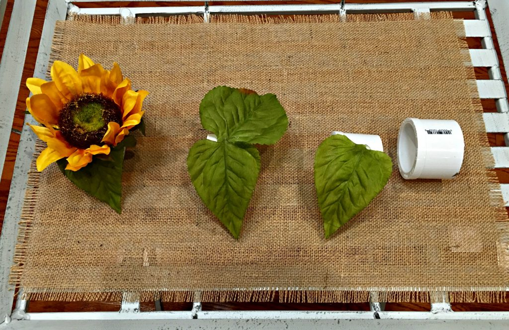 DIY Sunflower Napkin Rings