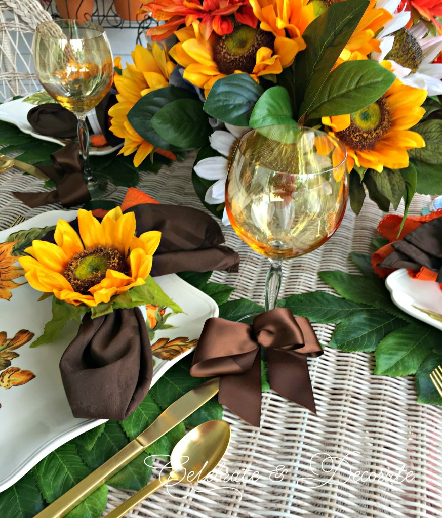 Summertime tablescape