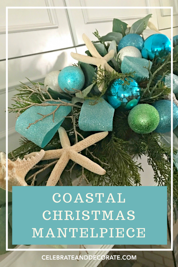 Coastal Christmas Mantepiece