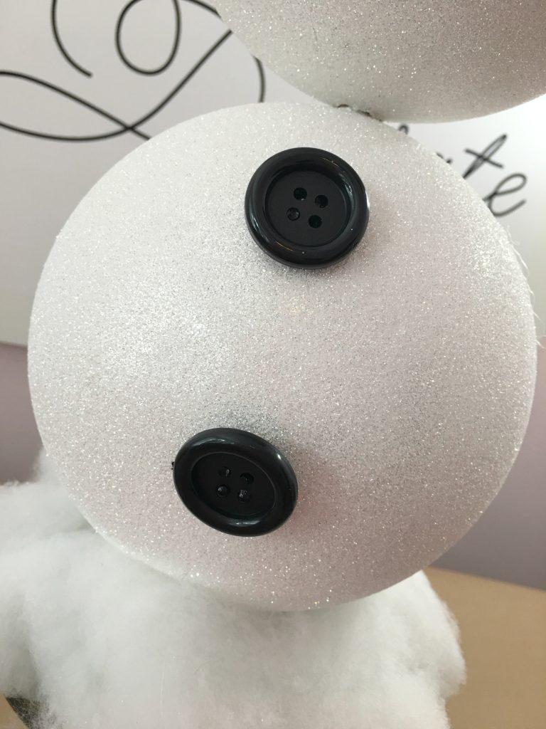DIY Snowman Topiary