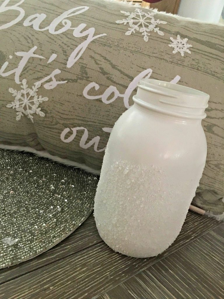 Faux Snow winter craft projects!