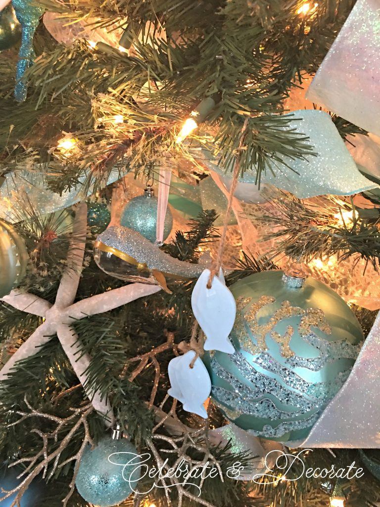 Coastal style Christmas Tree
