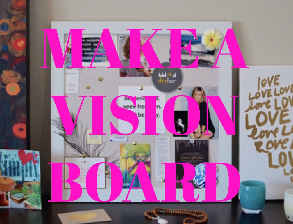 Vision board from Huffington Post