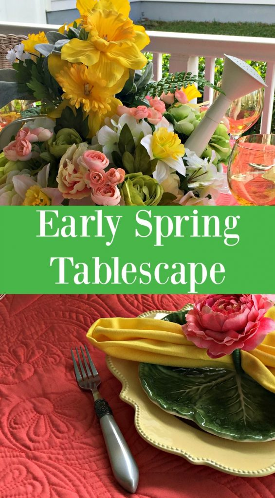 Early Spring Tablescape