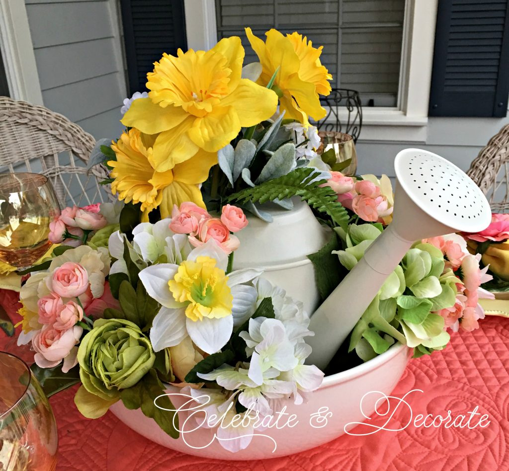 Fun spring centerpiece