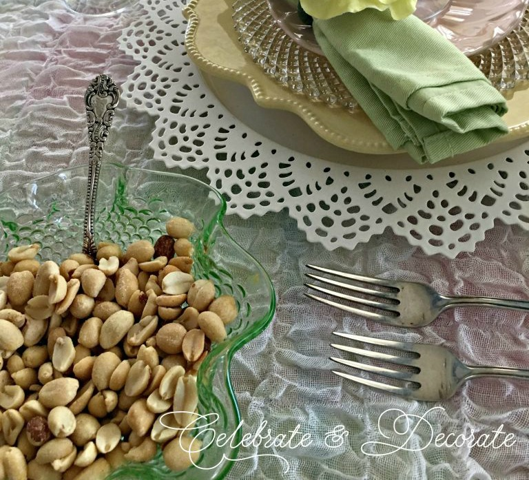 Ladies luncheon tablescape