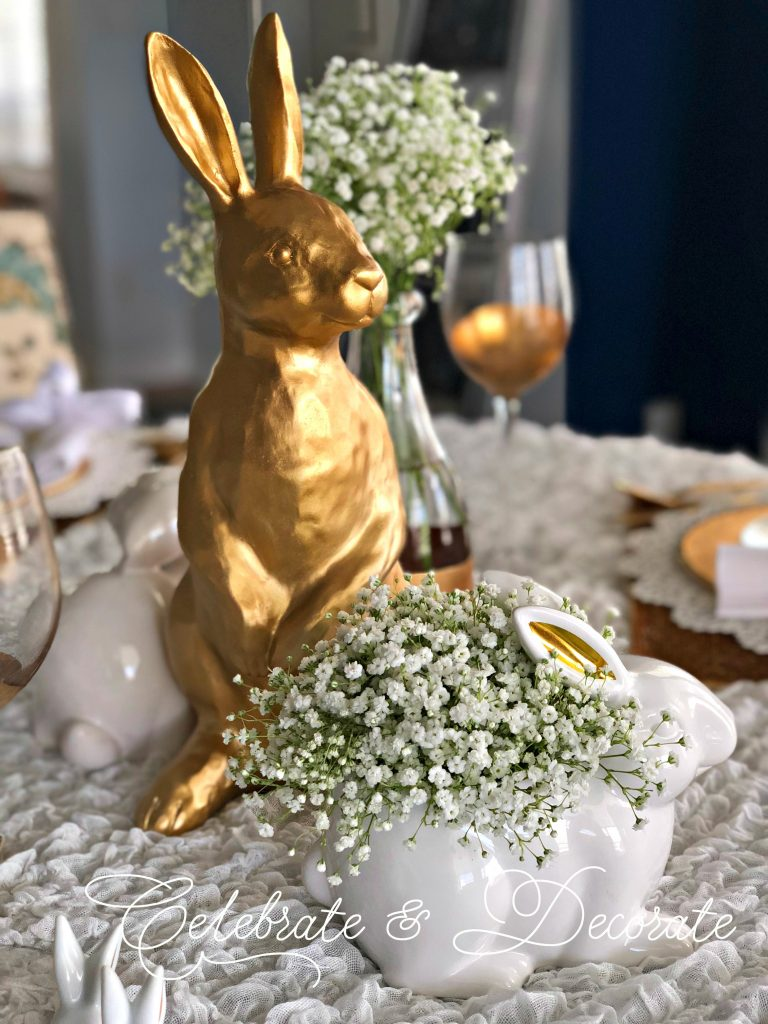 spring into an easter table blog hop celebrate decorate. Black Bedroom Furniture Sets. Home Design Ideas