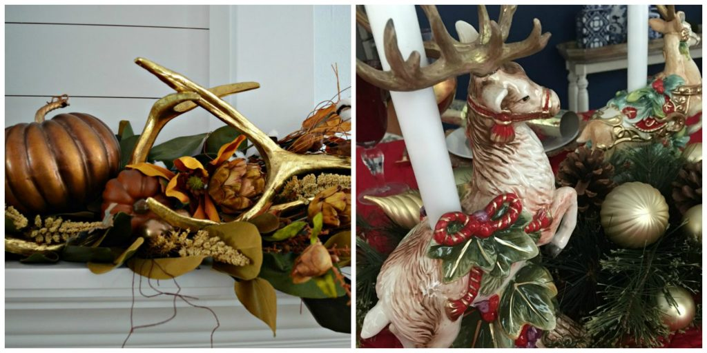 Seasonal and holiday decorations.