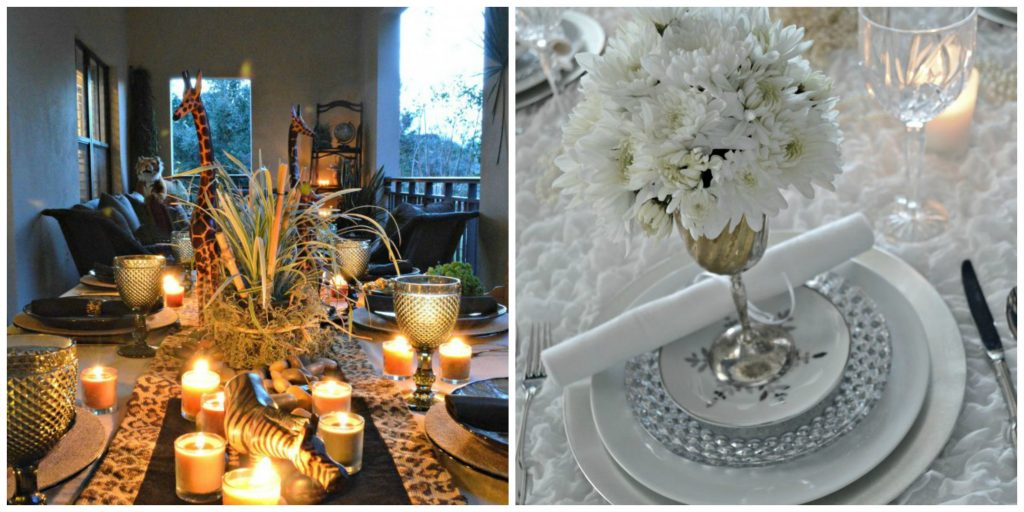Tablescapes and tablestyling