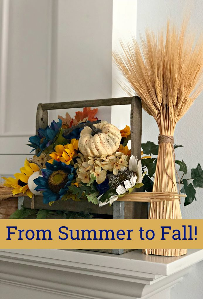 Decorating from summer to fall