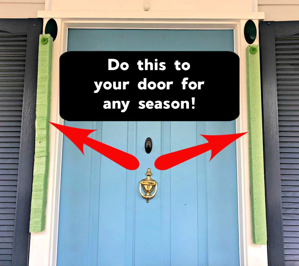 Do this to your door for any season!