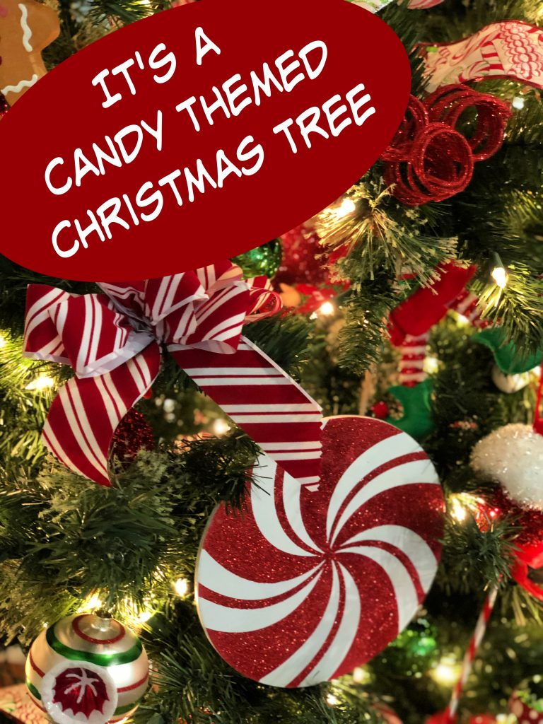 Candy Themed Christmas Tree Celebrate Decorate