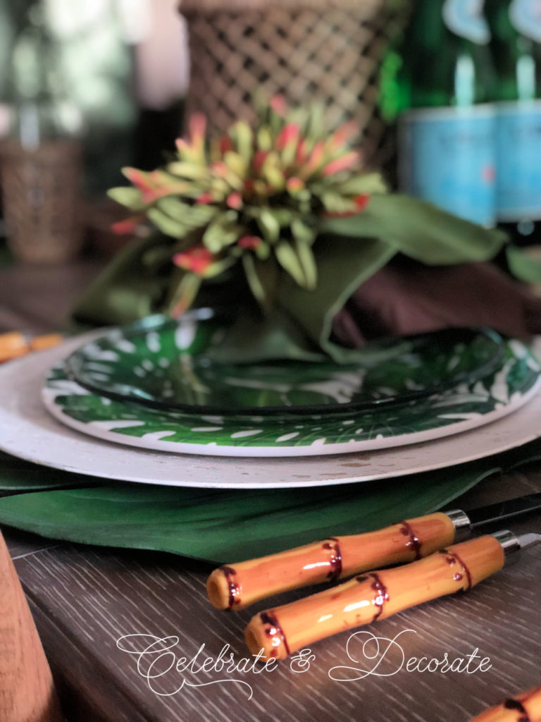 Bamboo handle flatware