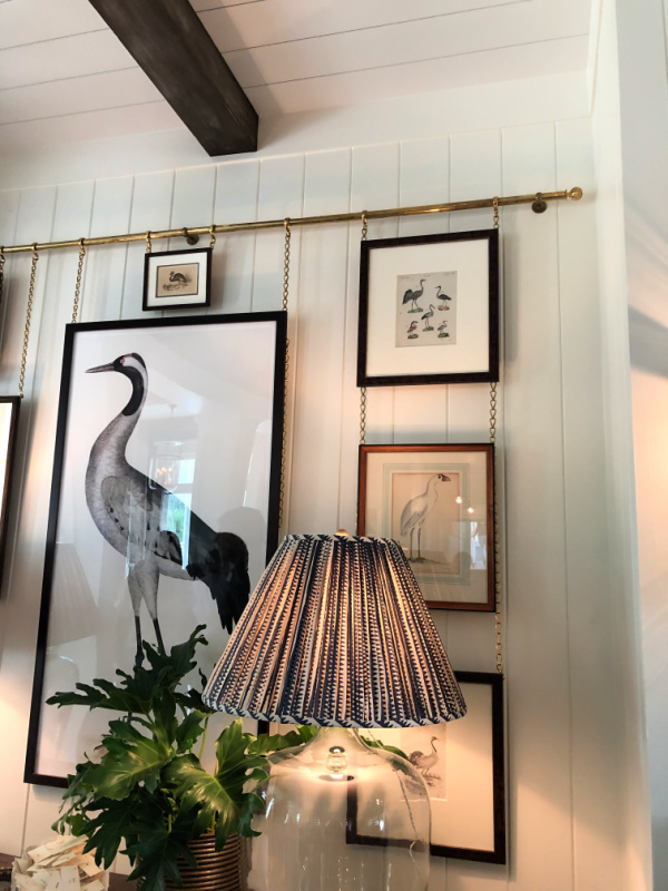 Sea bird gallery wall