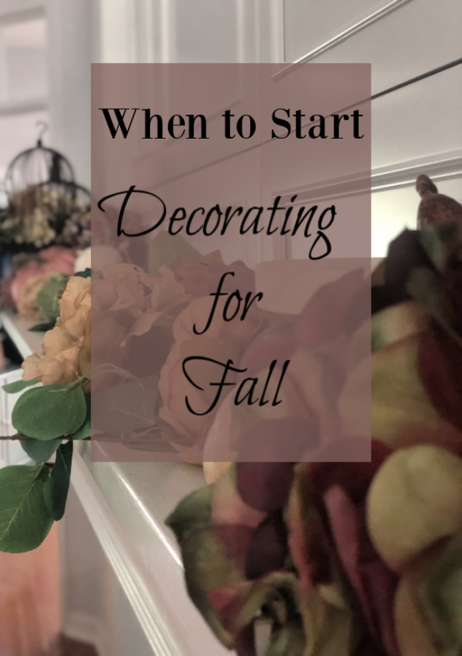 When To Start Decorating For Fall Celebrate Decorate