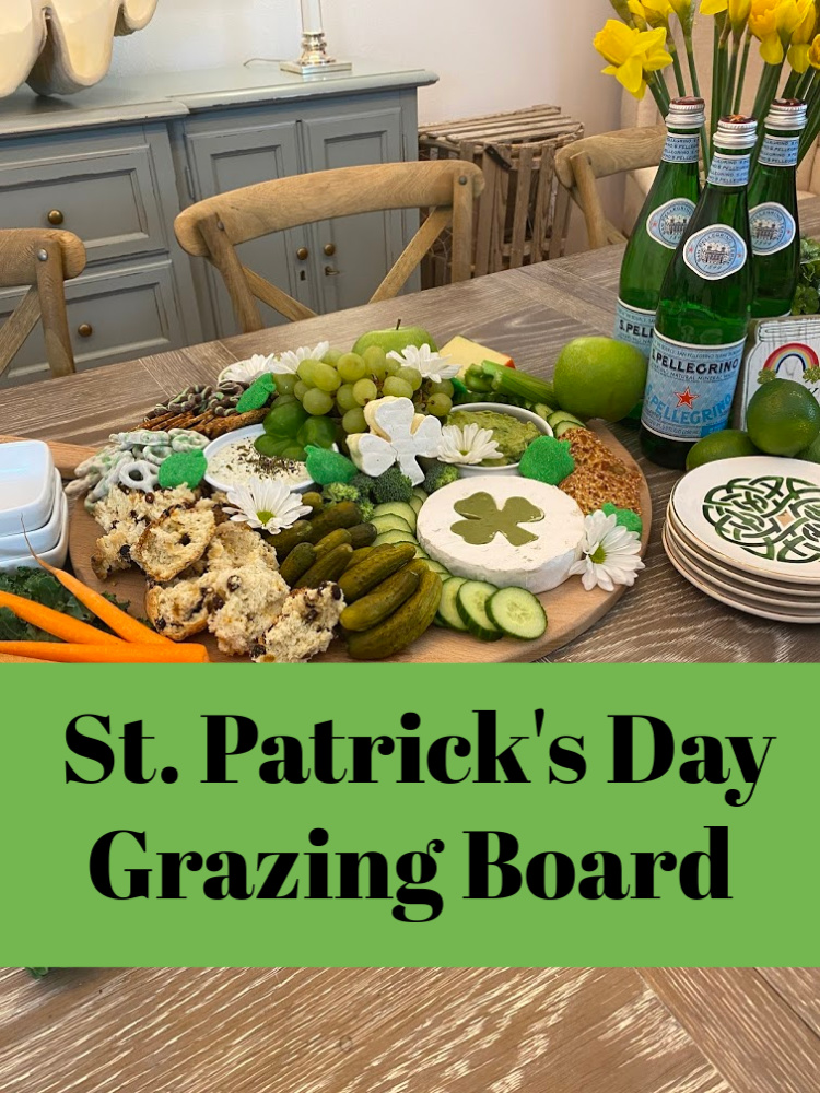 St. Patrick's Day Grazing Board
