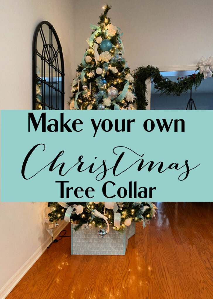 Diy Tree Collar Celebrate Decorate